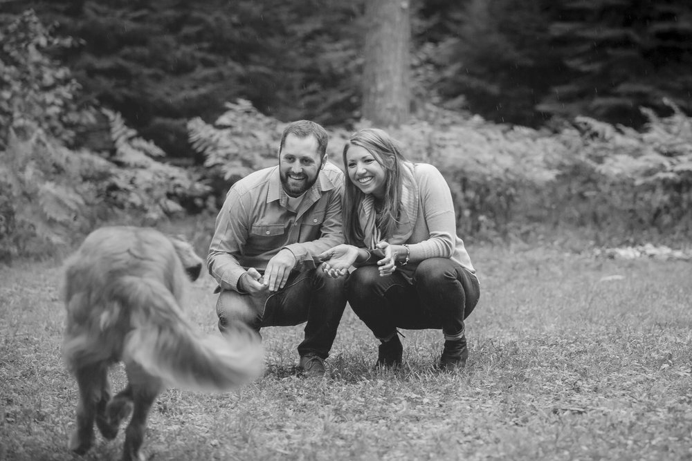 north woods cabin engagement session minnesota-7.jpg