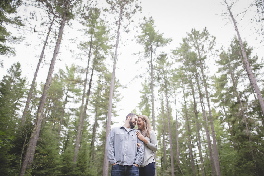 north woods cabin engagement session minnesota-8.jpg
