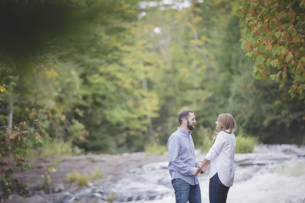 north woods cabin engagement session minnesota-11.jpg