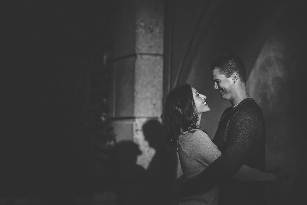 minneapolis black and white engagement session-29.jpg