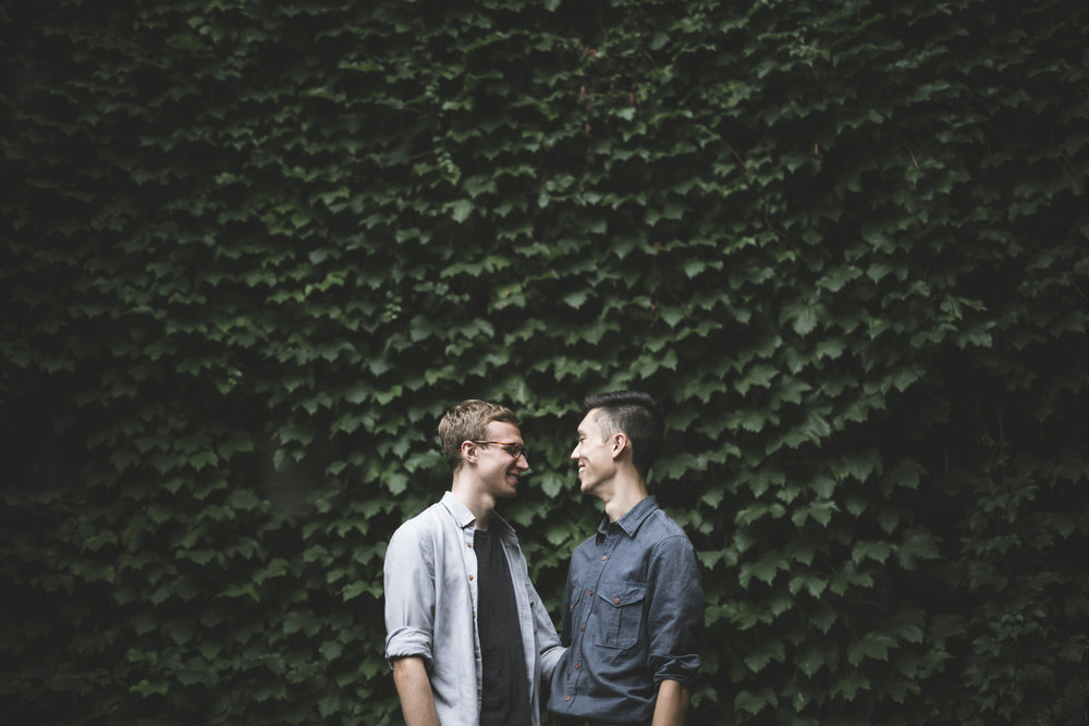 minneapolis same sex home neighborhood engagement session-12.jpg