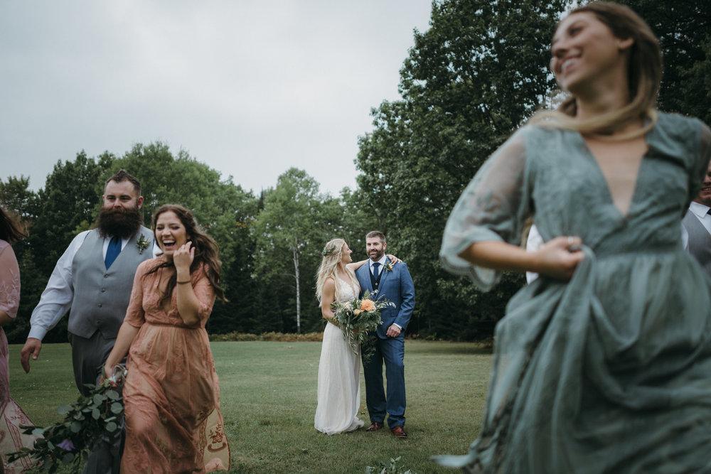 Adam + Sam - Backyard Boho Wedding