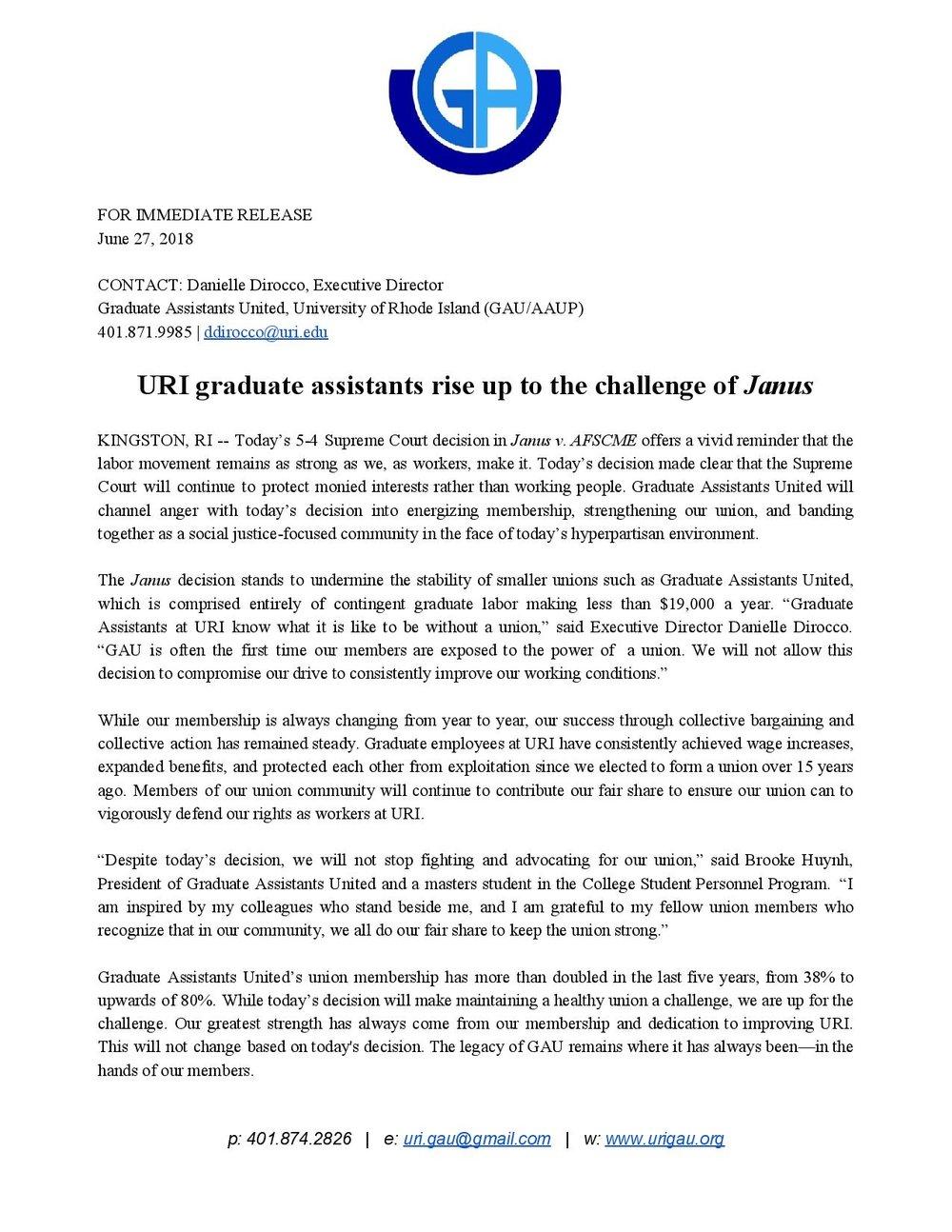 URI GAU Janus Statement 6_27_18.jpg