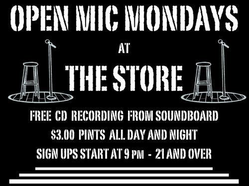 Open Mic at The Store