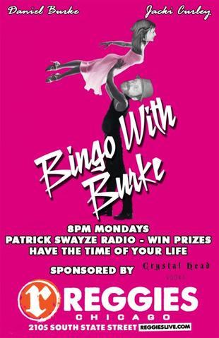 Bingo with Burke at Reggie's