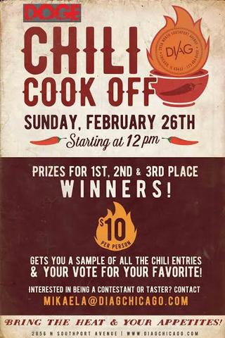 Diag Bar Chili Cookoff