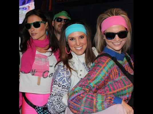 ski lodge party