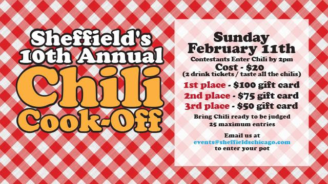 Sheffield's Chili Cookoff
