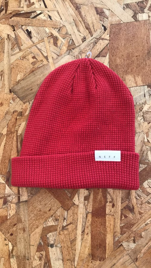 Neff Beanie - Red — Free Culture Clothing 0c42cdaef61