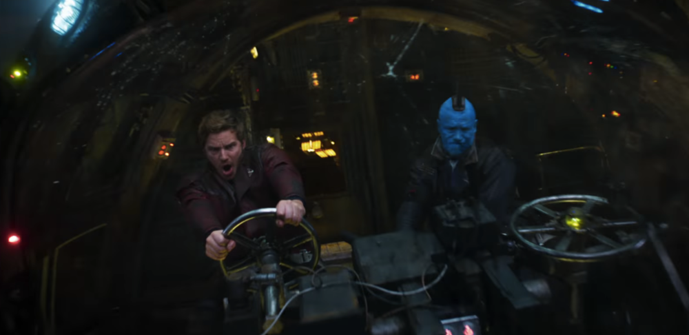 Quill and Yondu