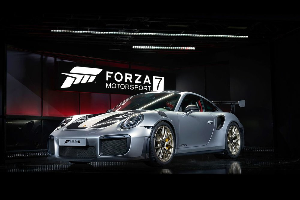 the new Porsche 911GT2 RS