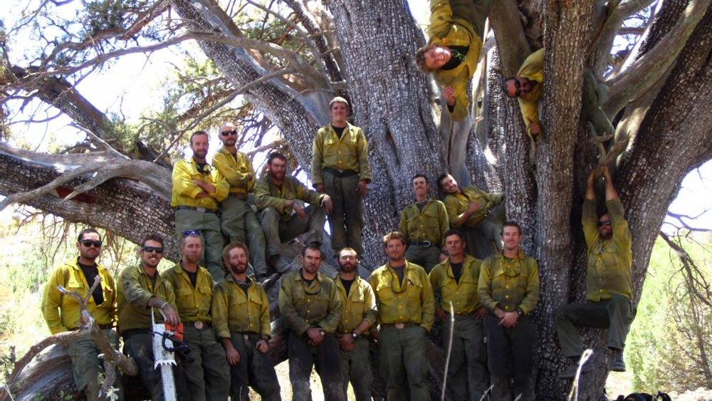 A photo of the Granite Mountain Hotshots. - CNN