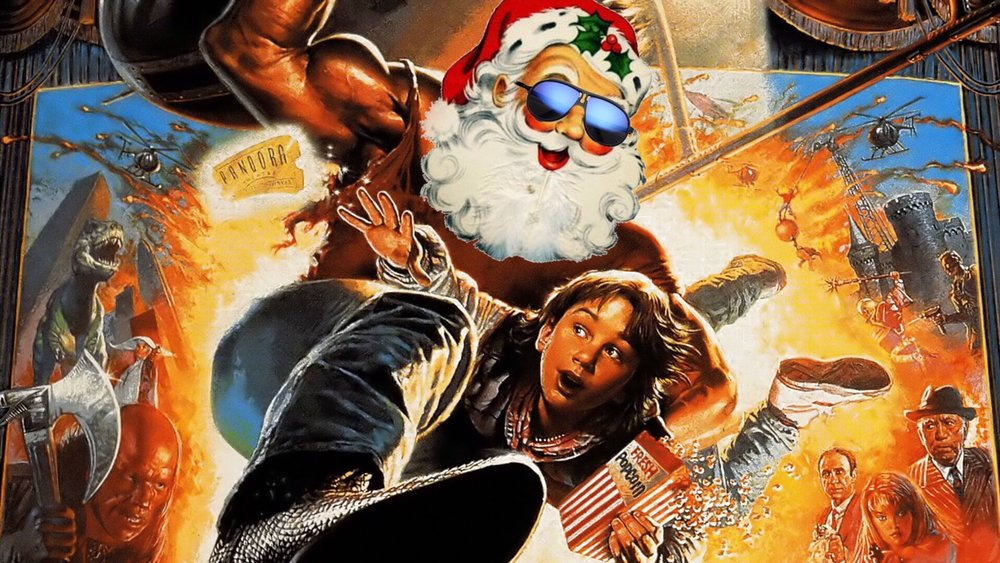 Last Action Hero Santa