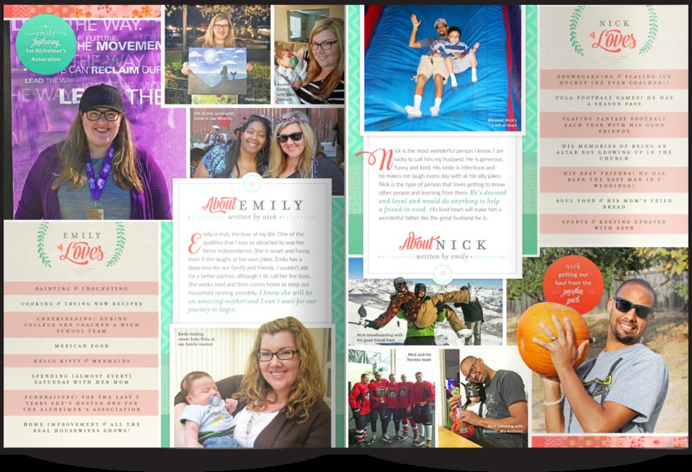 Adoption Profile Our Chosen Child Design Services Emily & Nick