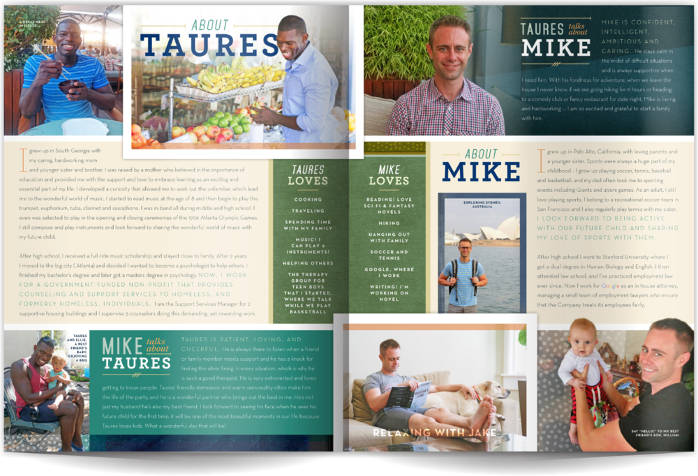 Adoption Profile Samples Our Chosen Child Design Services Mike & Taures