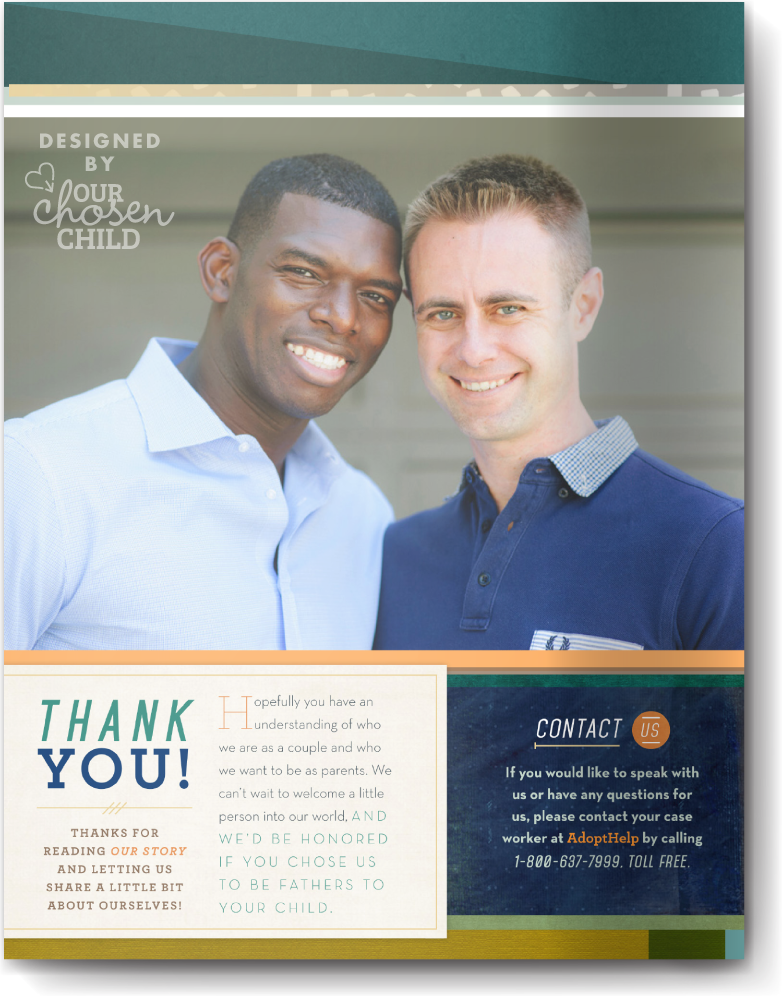 Adoption Profile Samples Online LGBT Our Chosen Child Design Services Mike & Taures