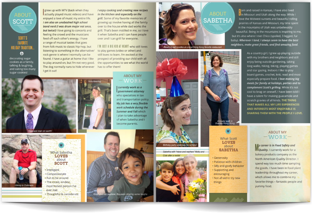 Adoption Profile Samples Online Our Chosen Child Design Services Sabetha & Scott