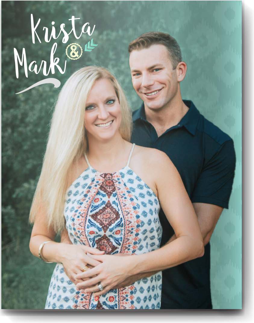 Cover page style 5 - Creative and fun ways to enhance an already great photo include adding a colored gradient and subtle pattern to the background for a dynamic look.