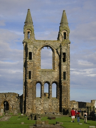 Ruins of St Andrew's Cathedral