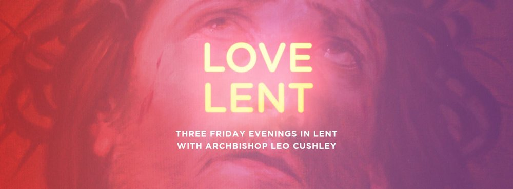 Love Lent graphic