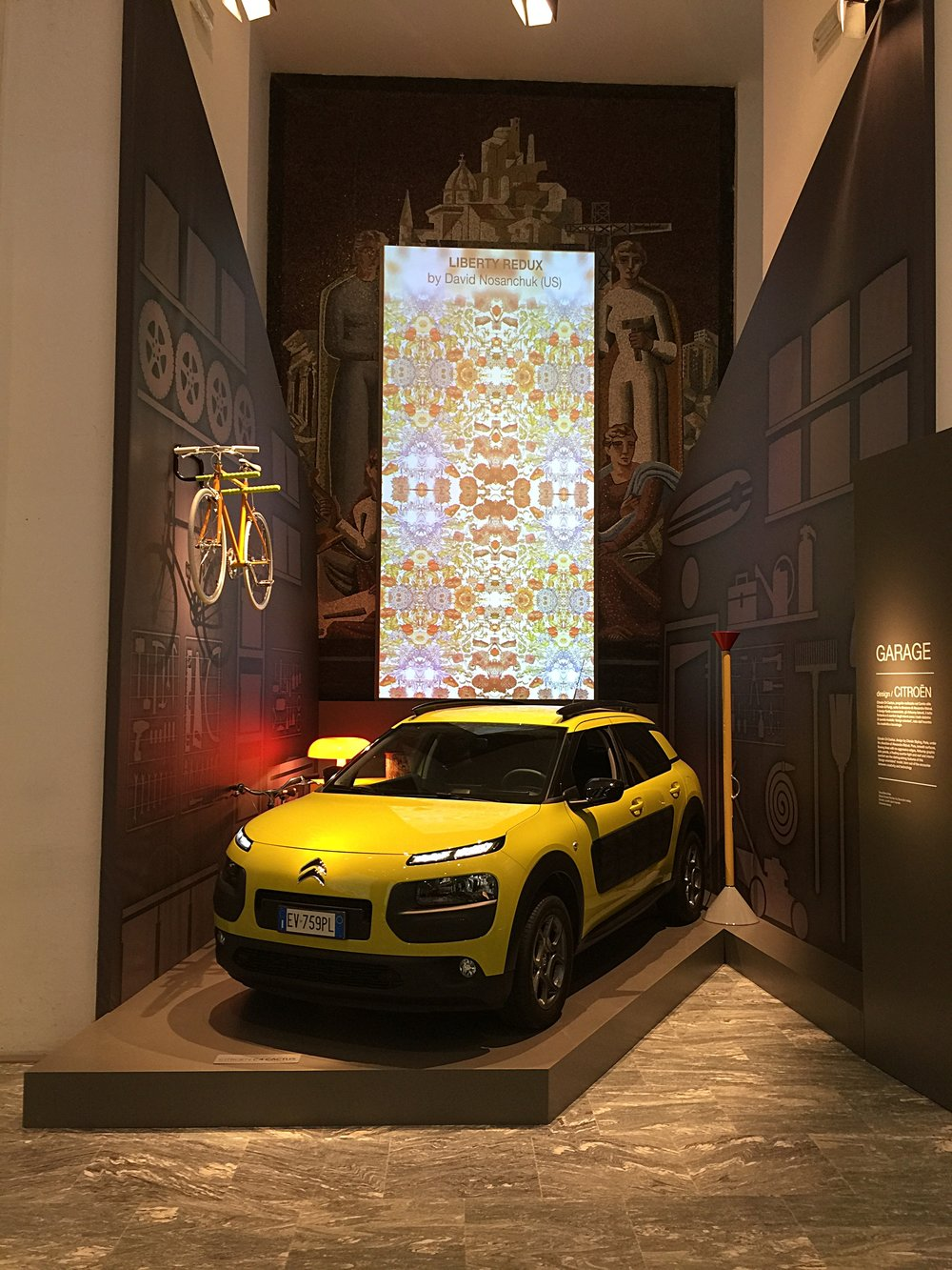 Liberty Redux,  Art of Living Exhibition, Triennale Di Milano, Milan, Italy, April 2015