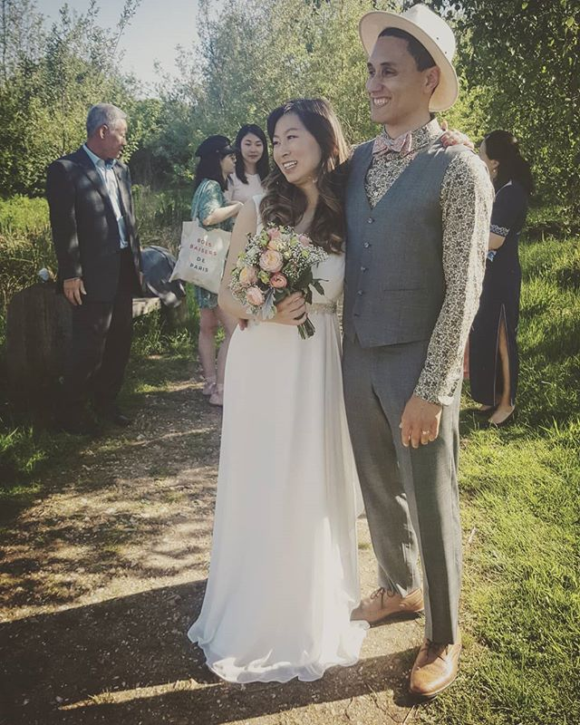 Bae + bae 💙 . . . #wedding #westlondon #bridal #wetland #love #london