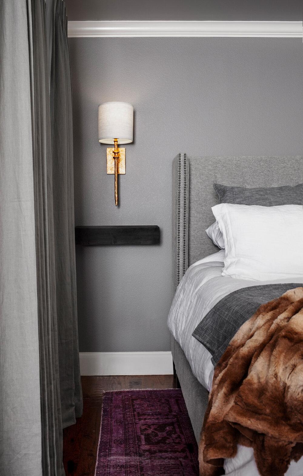 Elegant Master Bedroom Elizabeth Ryan Interiors