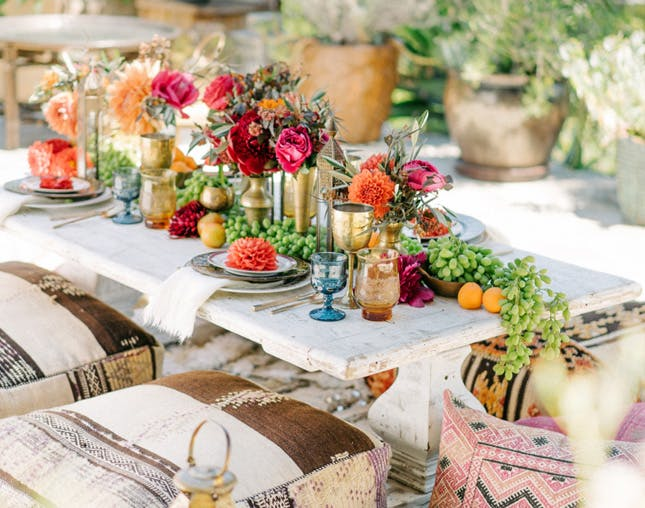 Love Outdoor Lounging? This New Boho Trend Party is for YOU