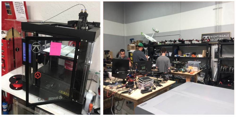 制作无人机零件的3D打印机