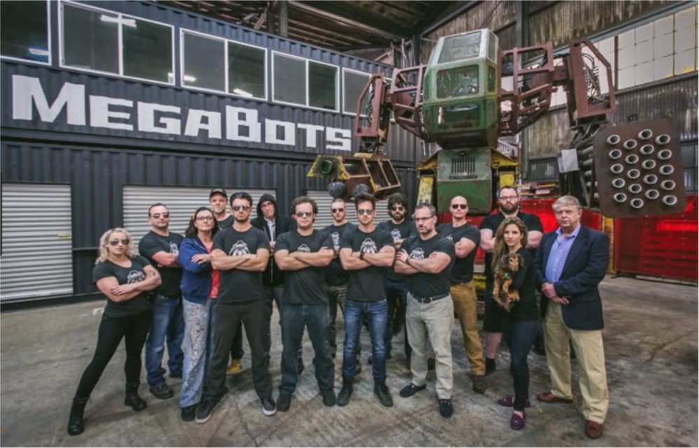 MegaBot的强大团队