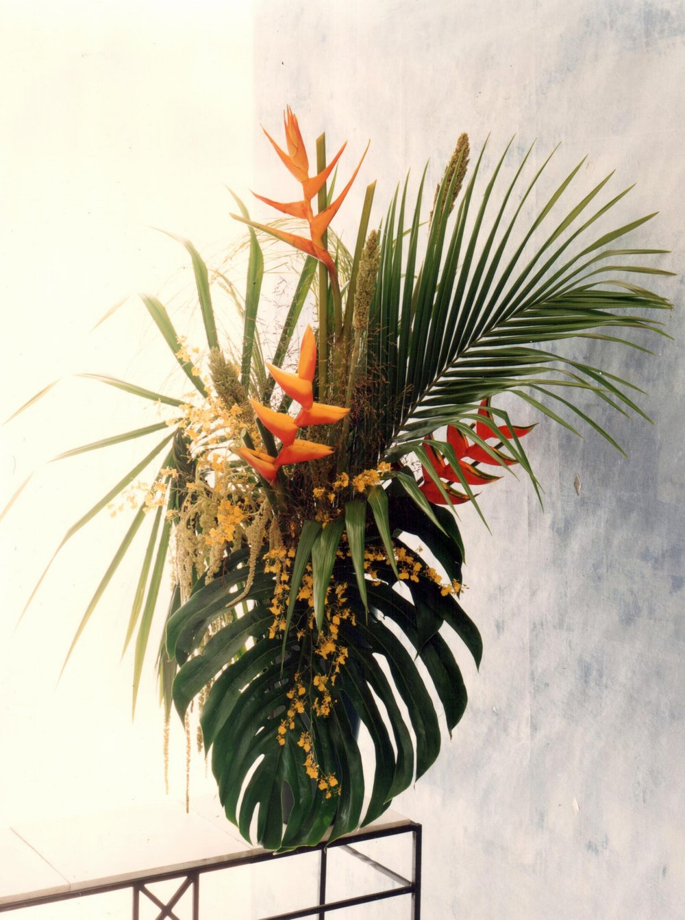 Tropical Reception Arrangement
