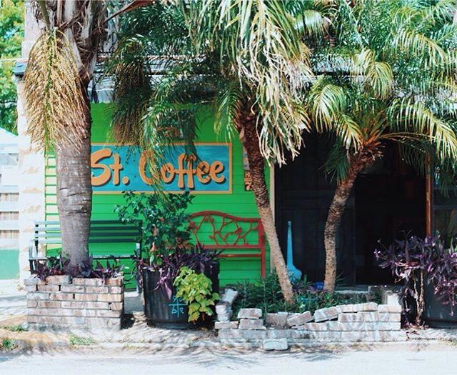 Craving kombucha? St. Coffee in NOLA will wet your whistle 😍 #nola #neworleans #stcoffee #bestcoffee #bestcafes #cutecafes #palmtrees #lousiana #travel #wanderlust #coffee #kombucha