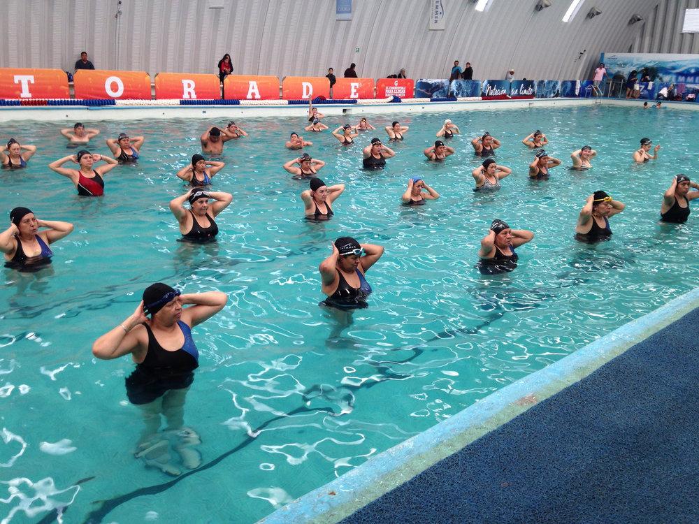 Aqua Fitness gimnasia acuática