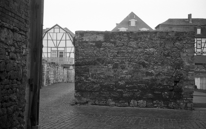 friederike's wall, Mühlhausen, Germany