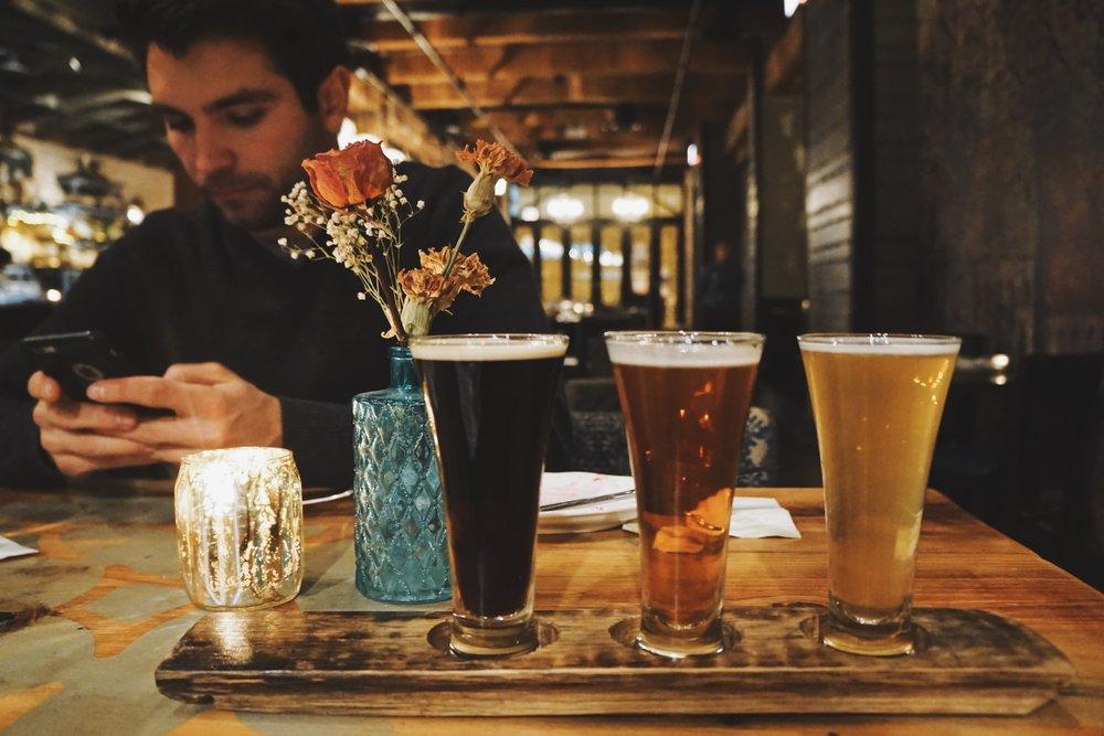 Flemish Beer Flight