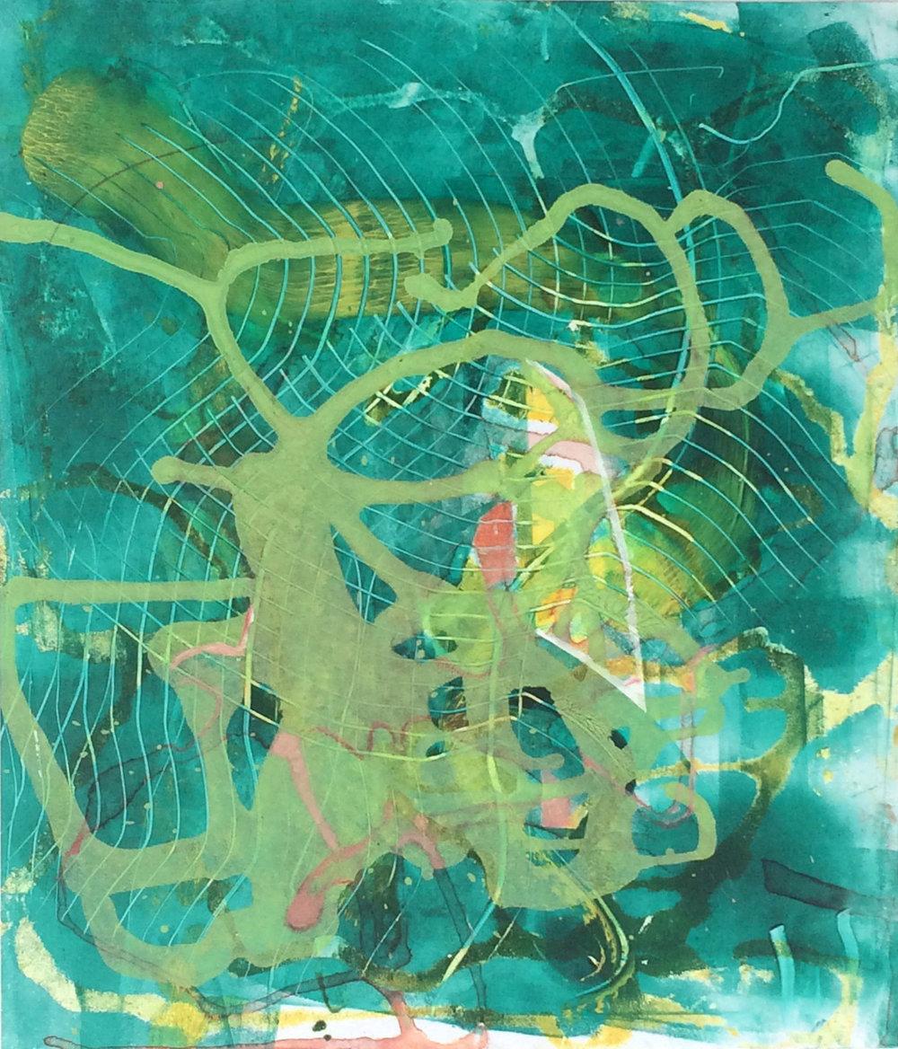 Open Sesame  9 x 8 inches  Acrylic on Styrene  2014