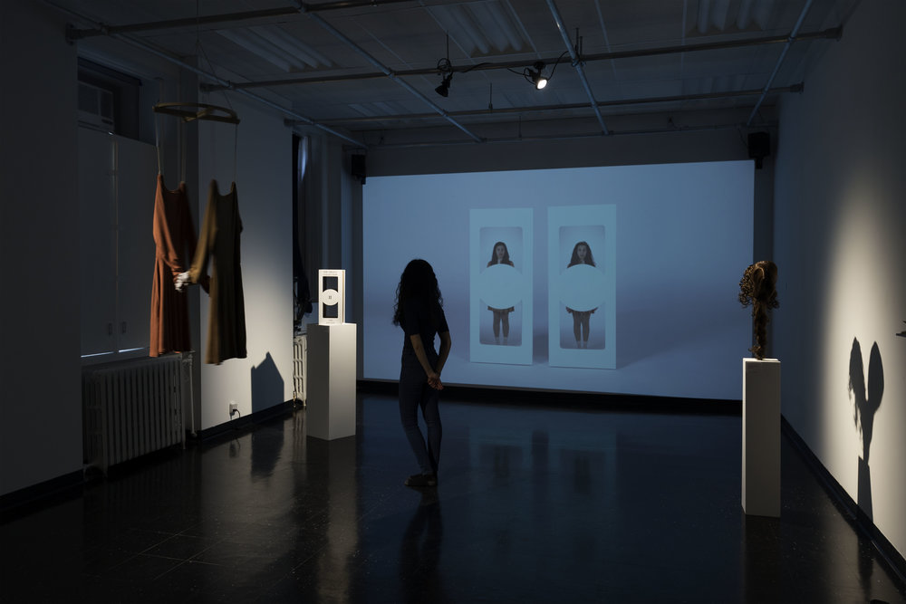 Full exhibition view