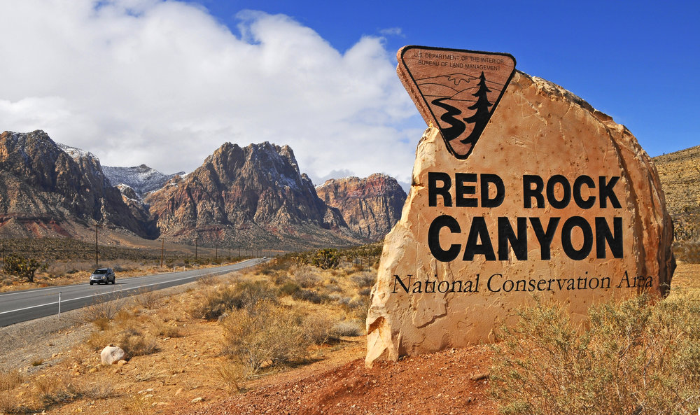 Red Rock Canyon - Take an afternoon to visit this astonishingly beautiful natural wonder. Enjoy a hike or just park the car and take in the surroundings. Please don't venture out to Red Rock without an adequate supply of water, especially during summer months.