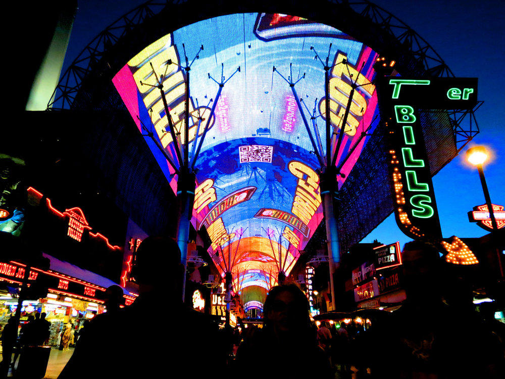 Fremont Street - While you are in Downtown Las Vegas be sure to stop by the Fremont Street Experience. People watching is the best free thing to do in Las Vegas and Fremont Street is certainly the best place to do it. Street performers and unusual people from Las Vegas flock to this neon bathed area of the city.