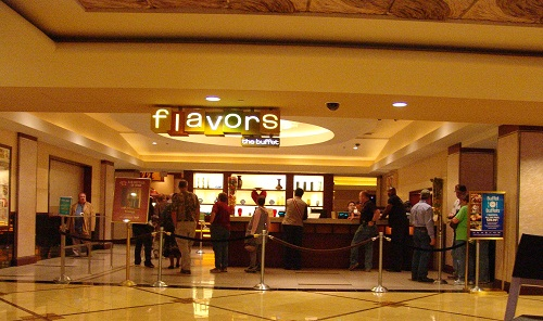 Flavors Buffet - Free meal for 2 at Flavors Buffet located in Harrah's Casino. Enjoy different flavors from around the world.