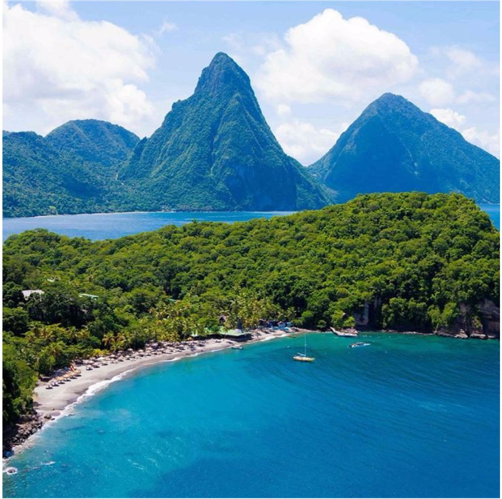 ANSE CHASTANET BEACH   North of the town Soufriere, is the beautiful stretch of beach known as...  More