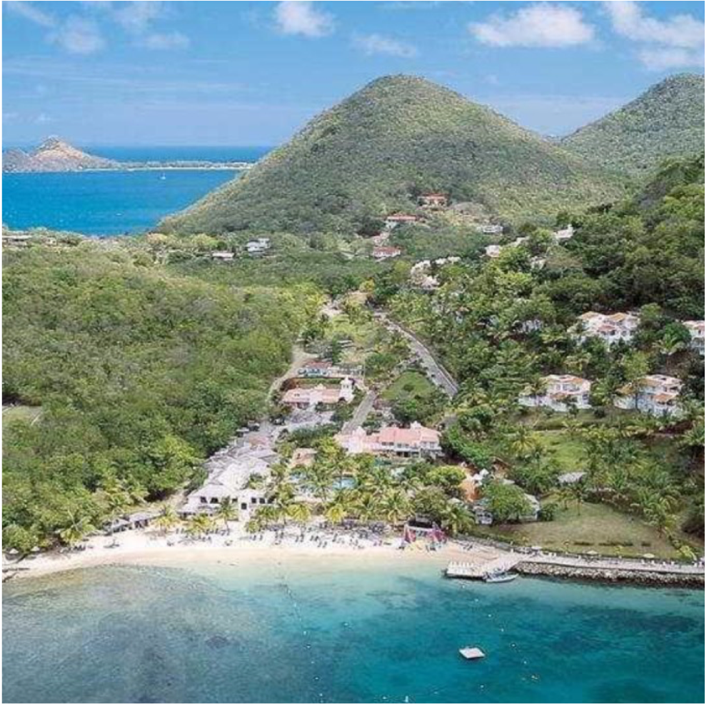 LABRELOTTE BAY   Between the East Winds Inn and the Windjammer Landing on...  More