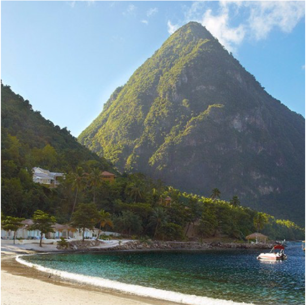 SOUFRIERE BEACH   Soufriere Beach is located on the southern coast of St. Lucia, just north of the...  More