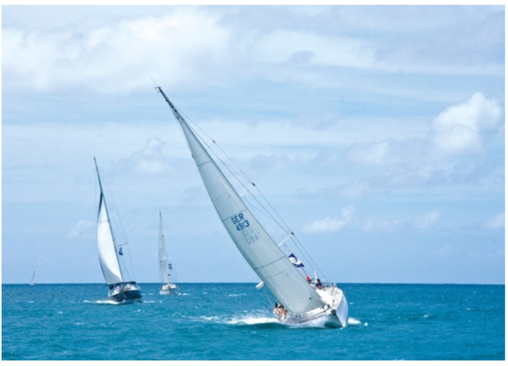 WORLD-CLASS SAILING   St Lucia's warm trade winds are famous for offering the perfect sailing conditions with world-class sailing and yachting activities. Experienced sailors and first timers will enjoy the tranquillity of the Caribbean Sea stretching on the western coast of the island, a much more enjoyable option than the Atlantic Ocean, surrounding St Lucia's eastern coast.