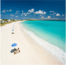 EMERALD BAY BEACH (GREAT EXUMA)   A crescent-shaped stretch of white powdery sand named after its translucent emerald...  More