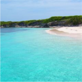 PLEASURE ISLAND BEACH (BERRY ISLANDS)   A stunning white sand beach with crystal-clear waters that are ideal for snorkelling...  More