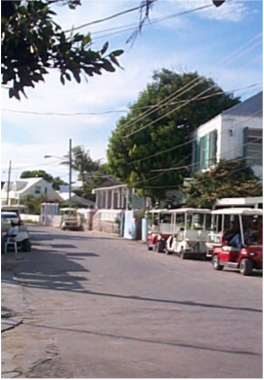 DUNMORE STREET   Just like Bay Street, Dunmore Street is home to many of the island's historical edifices, including the homes of many prominent Bahamians who played a key part in the development of Harbour Island. Among those are the Sir George W.K. Roberts Library/Museum, the Higgs Family Tomb, Crown Land Grant, Dundas Monument, and The Administrator's Residence.