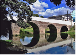 YAYABO BRIDGE   This Roman-style, early 19th century bridge symbolizes the city of Sancti Spíritus and the province.
