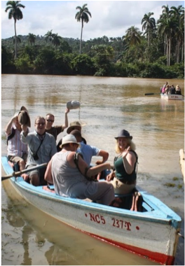 THE TOA'S CHALLENGES    Take a raft or punt trip on the country's widest river, which springs up on Guantánamo's mountains and jungle to ends near Baracoa.