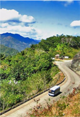 LA FAROLA    Featuring eleven suspended bridges with breath-taking views, this highway takes visitors deep into the mountains neighbouring Cajobabo beach, where José Martí disembarked in 1895